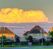 Suburbia 1 by Richard Fortier