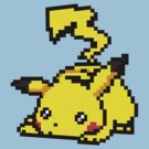 16-bit Sleeping Pikachu by ScottW93