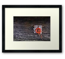 How to save a life Framed Print