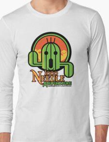 1000 NEEDLE ACUPUNCTURE Long Sleeve T-Shirt