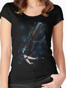 Black Rock Shooter Women's Fitted Scoop T-Shirt