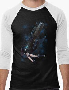 Black Rock Shooter Men's Baseball ¾ T-Shirt