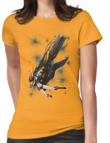 Black Rock Shooter Womens Fitted T-Shirt