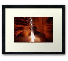 Antelope bonfire of sand Framed Print