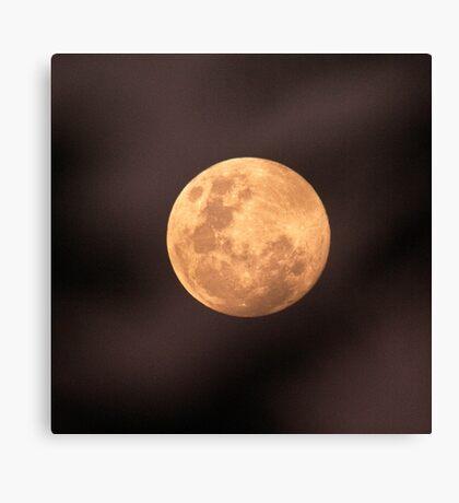 Full Moon July 4 2012 Canvas Print