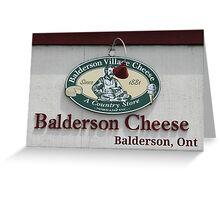 Balderson Cheese Greeting Card