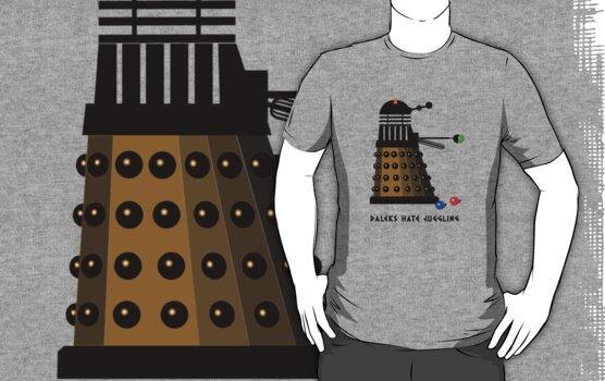 Daleks Hate Juggling... by Buddhuu