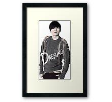 Big Bang - Daesung Framed Print