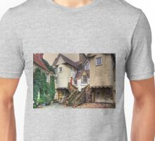 Steps in White Horse Close Unisex T-Shirt