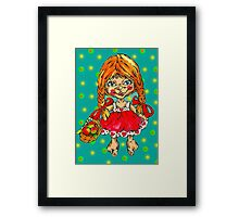 strawberry fairy Mary Framed Print