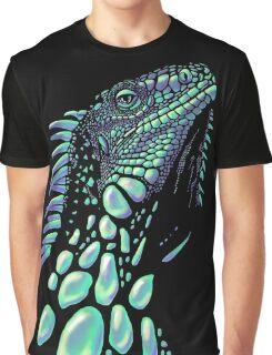 Iguana (soap bubbles) Graphic T-Shirt