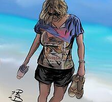 Sandy Sandals by rogerben