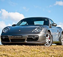 Porsche Cayman by Stuart Row