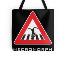 Caution - Necromorph Crossing Tote Bag
