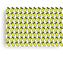 lemon print Canvas Print