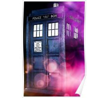 Public Police Box - Dr Who Poster