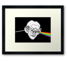 The Worst Pink Floyd / Star Trek Pun Ever Framed Print