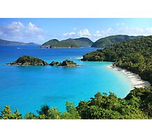 Trunk Bay, St. John USVI Photographic Print
