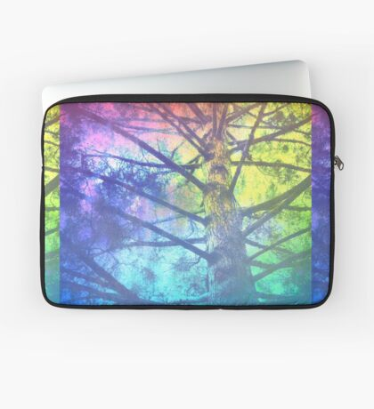 Rainbow Tree Laptop Sleeve