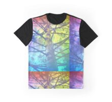 Rainbow Tree Graphic T-Shirt