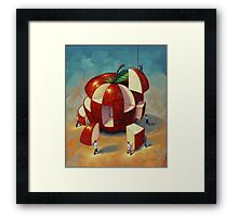 Apple Puzzle by Eric Westbrook Framed Print