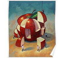 Apple Puzzle by Eric Westbrook Poster