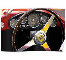 Ferrari 500 Mondial dashboard (1954) Poster