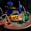 Four with a straw! by Gilberte