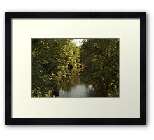 The Bark River Framed Print
