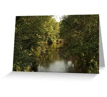 The Bark River Greeting Card