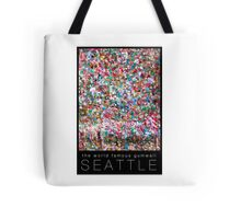 Gum Wall of Seattle # 1 Tote Bag