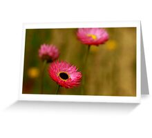 Think Pink Greeting Card