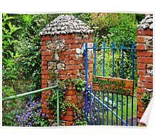 Lymbrook Cottages ~ Lyme Regis Poster