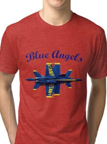 Blue Angels Flight Demonstration Team Tri-blend T-Shirt