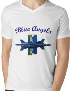 Blue Angels Flight Demonstration Team Mens V-Neck T-Shirt