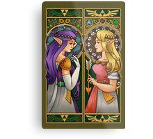 A Link Between Princesses Metal Print