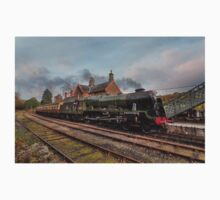 46100 Royal Scot at Highley Station One Piece - Short Sleeve