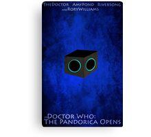 Doctor Who: The Pandorica Opens Canvas Print
