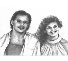 1980's Happy Couple Photographic Print