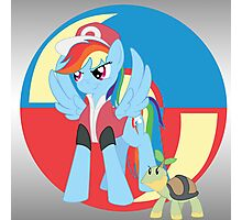 Trainer Dash Photographic Print