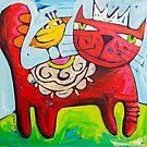 Salsa King by ART PRINTS ONLINE         by artist SARA  CATENA