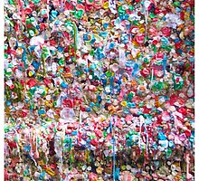 Gum Wall of Seattle # 2 by GoddessChrissy