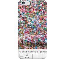 Gum Wall of Seattle # 2 iPhone Case/Skin