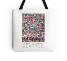 Gum Wall of Seattle # 2 Tote Bag