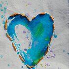 Blue Heart by The Street Child Project
