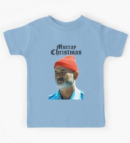 Murray Christmas - Bill Murray  Kids Tee