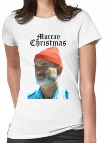 Murray Christmas - Bill Murray  Womens Fitted T-Shirt