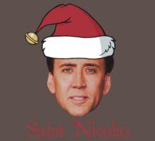Saint Nicolas Cage Christmas  One Piece - Short Sleeve
