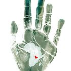 Teal Handprint by The Street Child Project