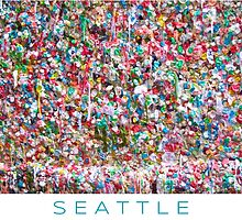 Gum Wall of Seattle # 5 by GoddessChrissy